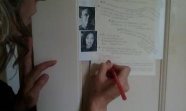 Barbara signing Studio M* Manifesto